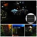 200 LED 22 M Luces de Hadas de Cuerda Solar Lámpara Solar de Energía 8 Modos de Iluminación al aire libre luces solares led al aire libre a prueba de agua Para jardín