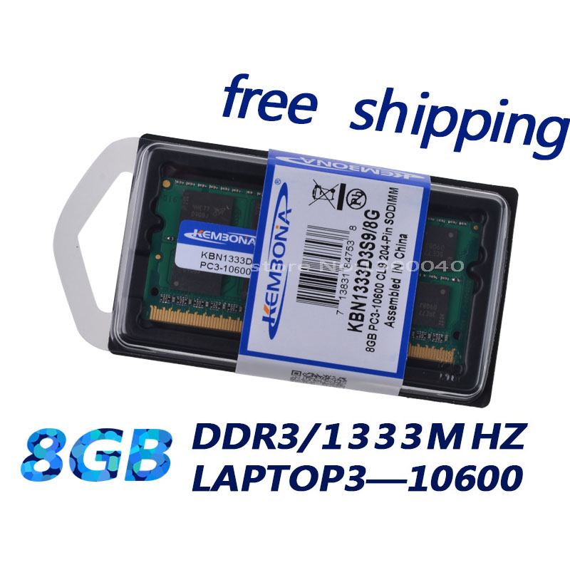 KEMBONA Sodimm Laptop Ram Memory With SO-DIMM Memory Socket 9