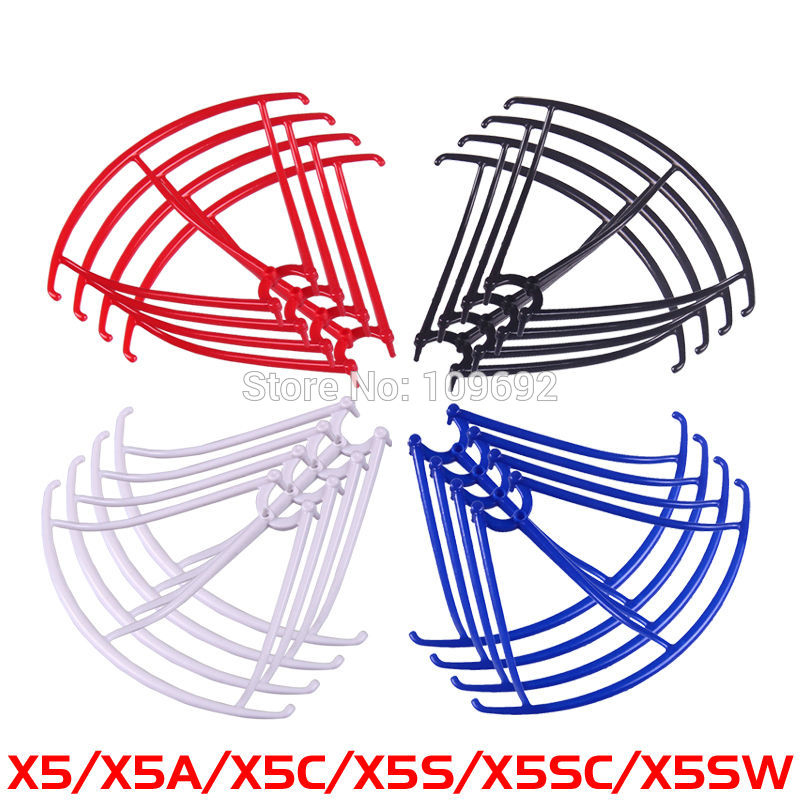 Blades Protection Frame Guard Syma X5 X5C X5C-1 X5SC X5SW Propeller Protectors RC Quadcopter Accessories Drone Spare Parts modern cx 10 rc quadcopter spare parts blade propeller jan11