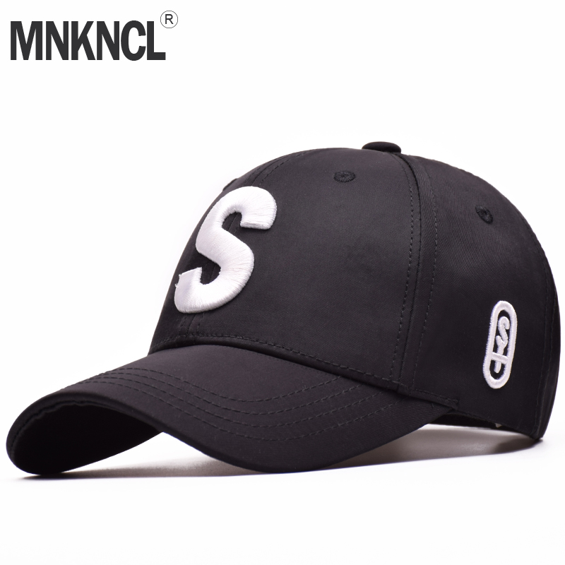 MNKNCL High Quality Unisex 100% Cotton Outdoor Baseball Cap S Embroidery Snapback Fashion Sports Hats For Men & Women Caps fashion printed skullies high quality autumn and winter printed beanie hats for men brand designer hats