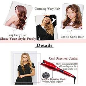 Image 5 - 2019 חדש מקצועי אוטומטי שיער קרלינג ברזל קסם חשמלי שיער Curler רולר קרלינג שרביט קרמיקה שיער סטיילינג כלים
