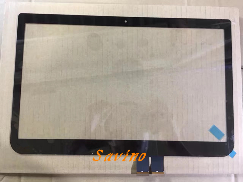 14.0 Touch Screen Digitizer Glass Front Panel for Toshiba L40-a  Without LCD free shipping new touch panel 10 1 black digitizer touch screen glass for toshiba excite pad at10 at10 a 104