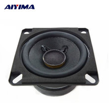 2Pcs Audio Speakers 2.75Inch 8Ohm 12W Full Range Speaker DIY Portable Large Magnet Speakers 70x70MM