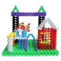 100X Niño Bebé Multicolor Snowflake Creativas de Bloques de Construcción Juguetes Educativos Navidad 96296 #10