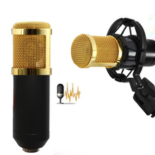 TGETH BM800 Professional Condenser Sound Recording Microphone With Shock Mount for Radio Braodcasting Singing