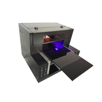 UV 300 Digital Max 30*50cm Flatbed UV Printer LED With Emboss Effect Metal Plate Printing Machine For Phone Case Tin Can Metal