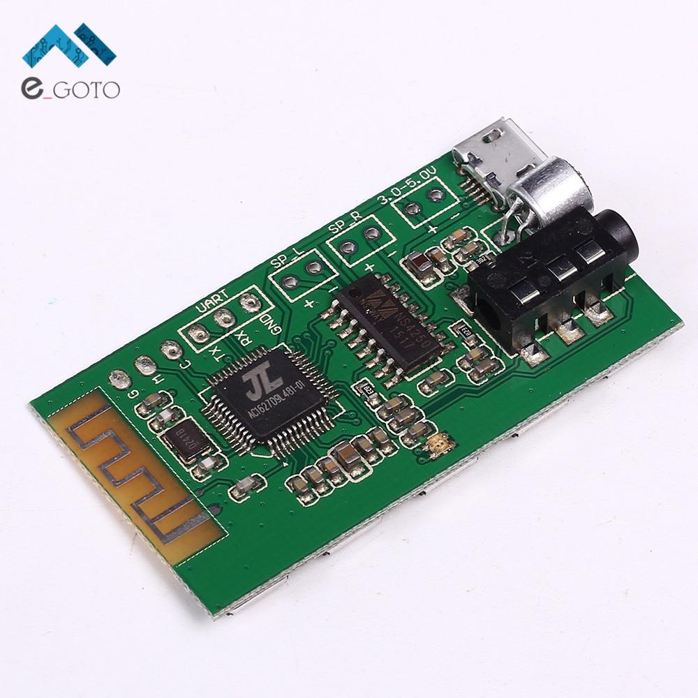 2Wx2 Беспроводной приемник <font><b>Bluetooth</b></font> доска стерео аудио цифровой Усилители домашние модуль USB 24-бит ЦАП Выход w/LED 3.3 -5.0 В 50 Гц-18 кГц