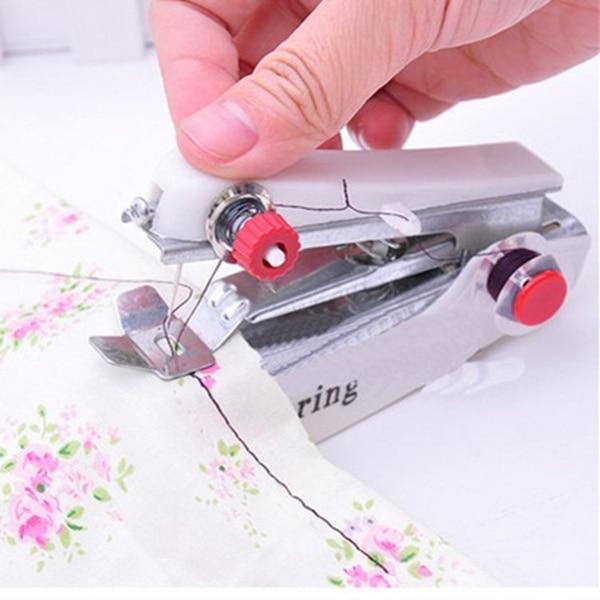 Ручная швейная мини-машинка handy stitch (хенди cтич) купить по.