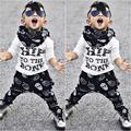 2pcs Toddler Kids Baby Boy T-shirt Tops + Pants Summer Hip to the bone Casual Outfits Clothing Set New