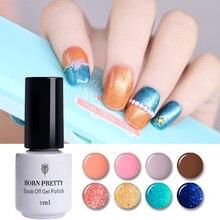 5ml BORN PRETTY One-step Nail LED UV Gel Polish Colorful Soak Off Manicure Varnish Lacquer for Lamp No Need Base Coat