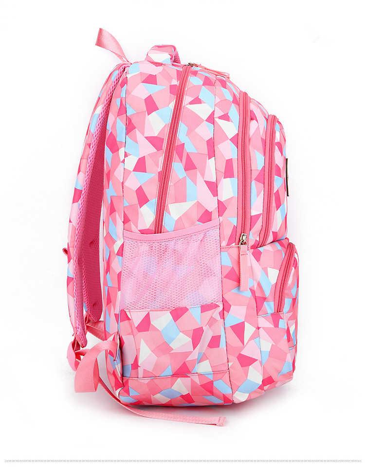 Mochila de impresión para niños, mochilas escolares para niñas, niños, ortopédicas, mochila para niños