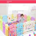 Environmental & Segurança & Health & Bonito Carrinhos de Bebê Carrinhos de Bebê Engatinhando Cerca de Plástico Cerca De Segurança Da Criança Brinquedos Do Bebê Seguro porta de entrada