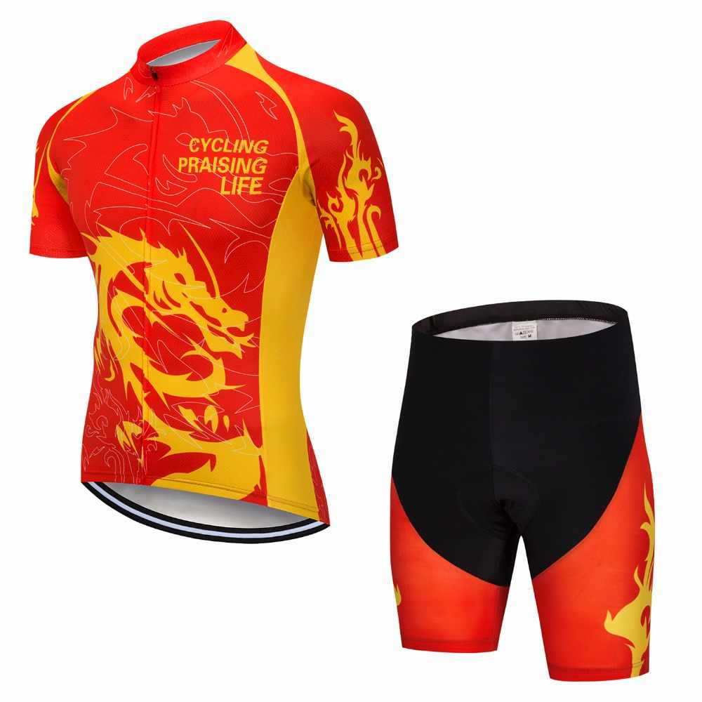 c7b3fd4d7 ... Men s Bicycle Wear MTB Cycling Clothing cycling sets Pro Team Bike  uniform Cycle shirt Summer cycling ...