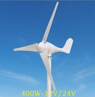 WWS ENERGY Wind Power Generator 400W 12V Or 24V Include Generator Controller 3 Blades Fit For