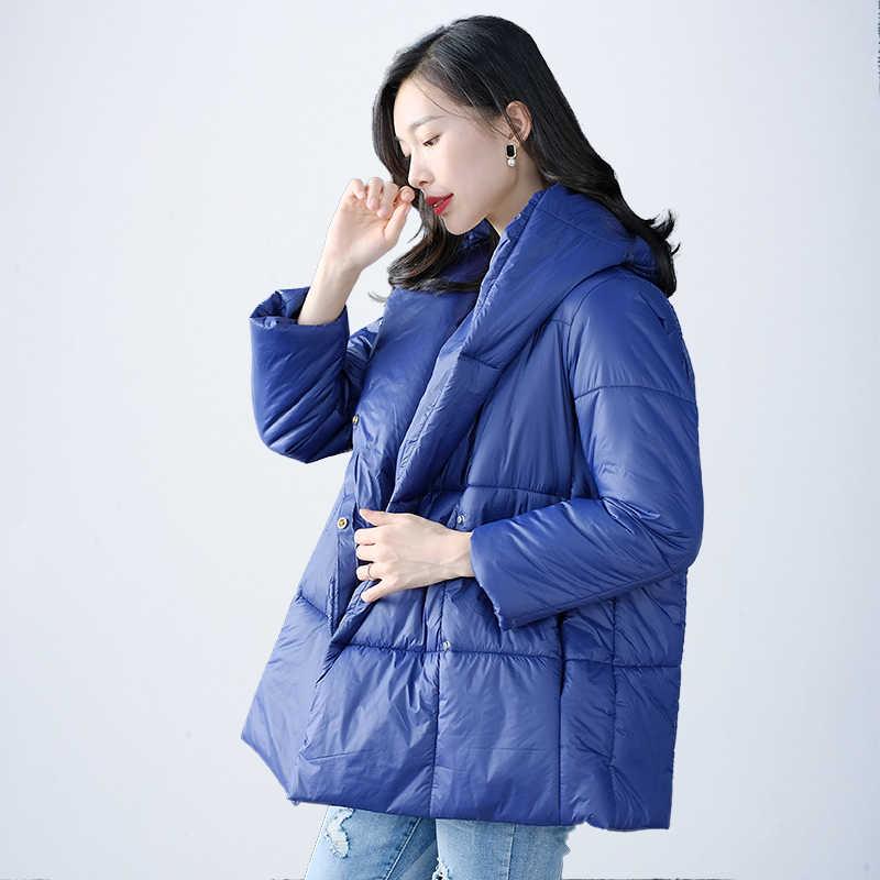 CNMUDONSI новые зимние пальто женские модные женские водонепроницаемые короткие модные куртки с капюшоном повседневные длинные стеганые куртки