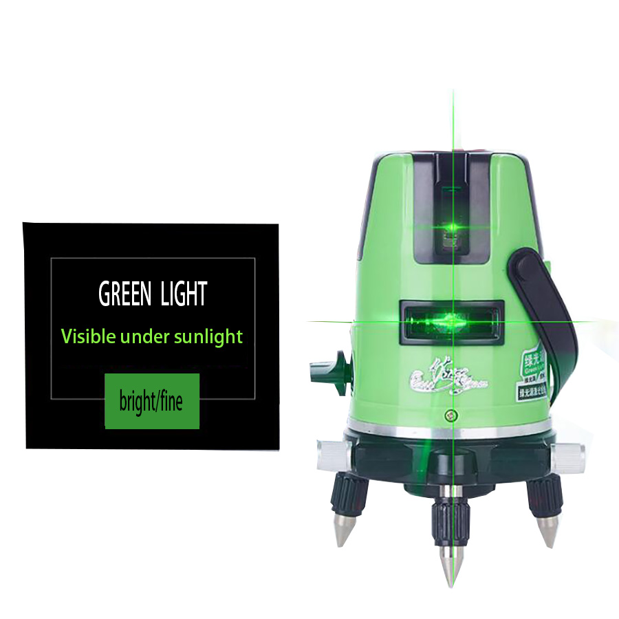 2 Lines 3 Lines 5 Lines Green Laser Level Outdoor Laser Super Light Line 2/3/5 Rechargeable Infrared Self- leveling Laser Levels kapro clamp type high precision infrared light level laser level line marking the investment line
