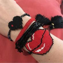 цена Go2boho Delica MIYUKI Bracelet Women Bite Lips Pulseras Mujer Moda 2019 Summer Jewelry Crystal Bracelets Tassel Handmade в интернет-магазинах