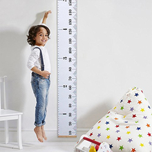 Baby Growth Chart Hanging Rulers Wall Hanging Height Ruler Wall Sticker Wall Decals Height Measurement Kids Children Room Decor height chart wall sticker