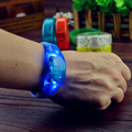 1pcs Music Activated Sound Control Led Flashing Bracelet Light Up Bangle Wristband Night Club Activity Party Bar Disco Cheer
