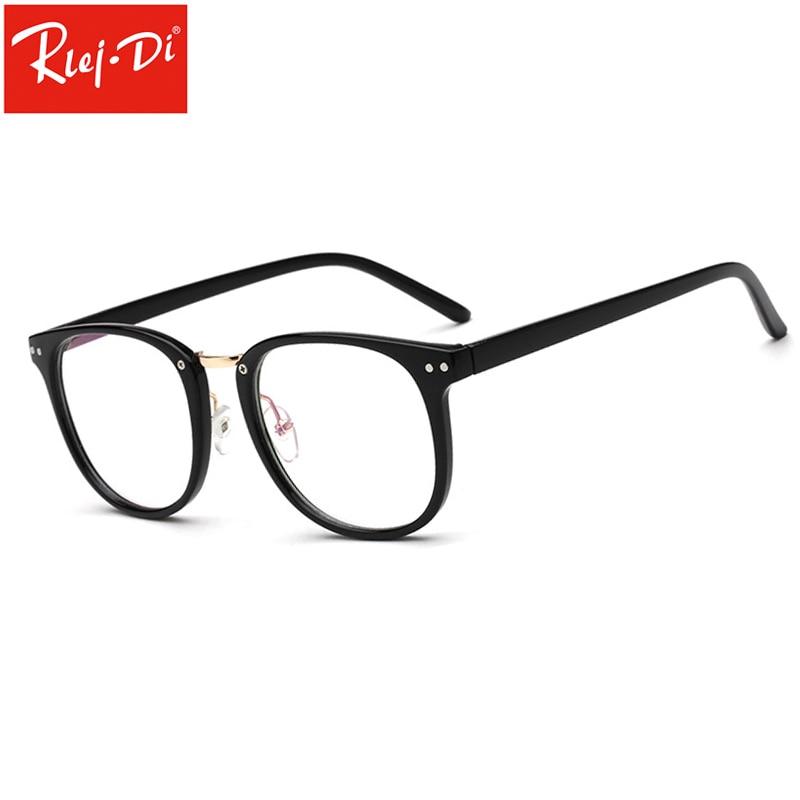 6f855dca51d18 UG04 Óculos de Armação de Metal Moda Mulheres Meninas Óculos Limpar Lente  Nova