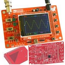 Free shipping Digital Oscilloscope DIY Kit DIY Parts Electrical Digital Oscilloscope Pocket-size Handheld Electronic 1Msps цена 2017