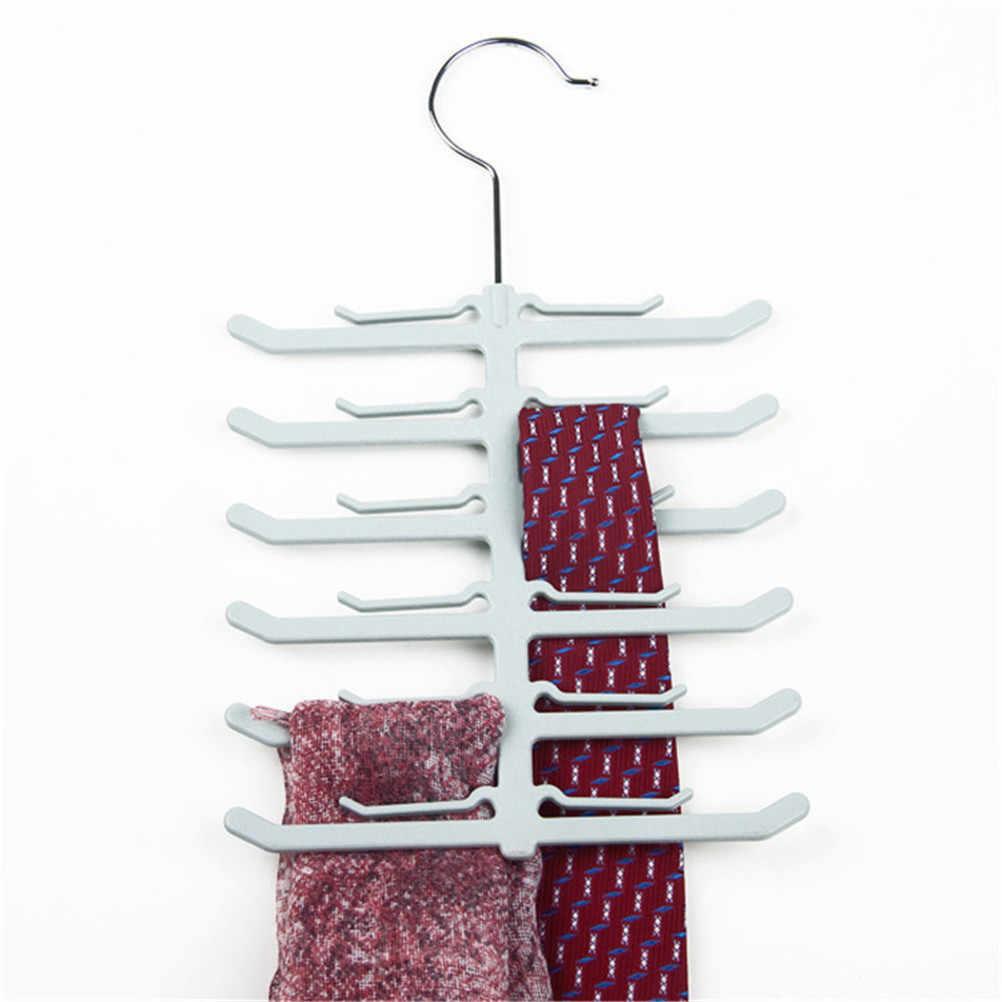 אדרה בצורת קולב עניבה עניבת מגבות חגורת צעיף צעיף מתלה שטח חיסכון סיטונאי חדש הגעה