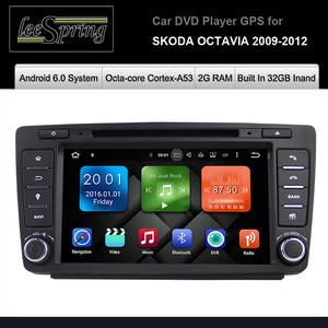 Top 10 largest 32gb mp3 player built brands built in 32 gb inand 2g ram car dvd player for skoda octavia 2009 2012 car multimedia fandeluxe Choice Image