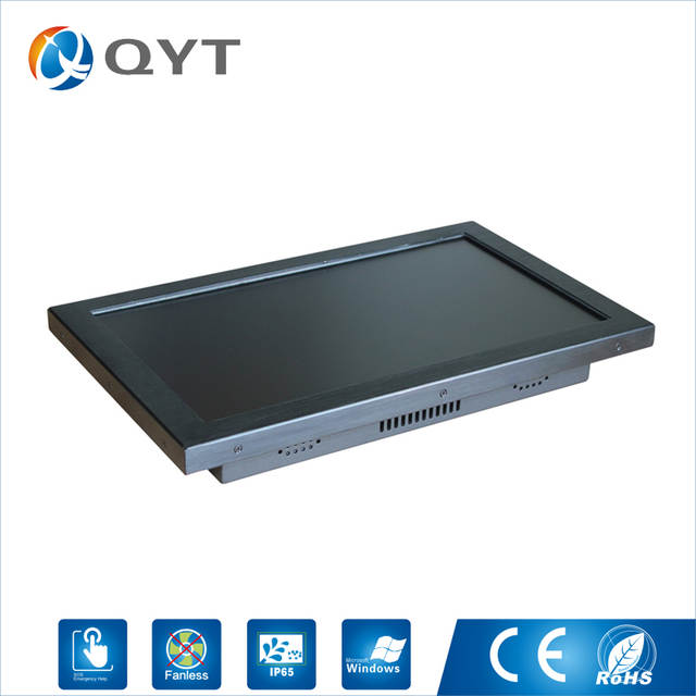 I3 CPU 18 5 inch Industrial all in one pc aio pc Resistive Touch Screen  Resolution 1366x768 Tablet PC with Intel 3217U 1 9GHz