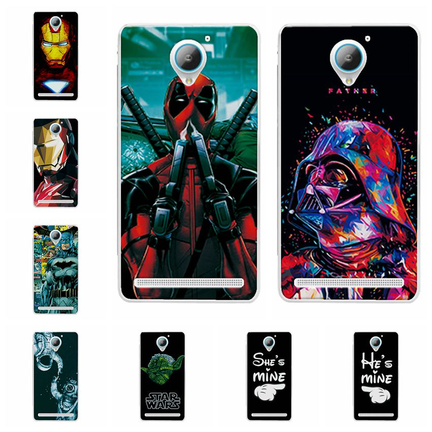 Charming Deadpool <font><b>Cases</b></font> Coque For <font><b>Lenovo</b></font> Vibe <font><b>C2</b></font> iron Man Soft Silicone <font><b>Phone</b></font> <font><b>Case</b></font> For <font><b>Lenovo</b></font> <font><b>C2</b></font> Power <font><b>K10a40</b></font> Back Cover Capa 5
