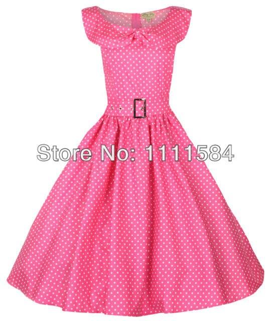 ᗑEnvío libre rockabilly kleid Petticoat Polka puntos abendkleid ...