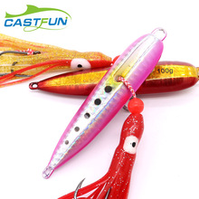 Inchiku Jigging Lure 100g 120g 150g 180g 200g Bottom Ship Polagan Metalni Jig Hobotni pomoćni kukci