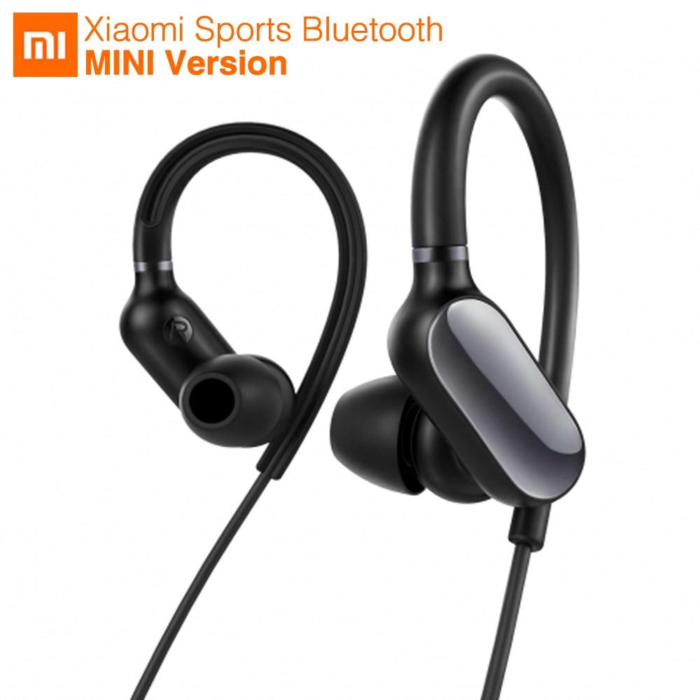 Новая Оригинальная Спортивная bluetooth гарнитура Xiaomi Mi, беспроводная мини гарнитура с микрофоном, водонепроницаемые наушники Bluetooth 4,1