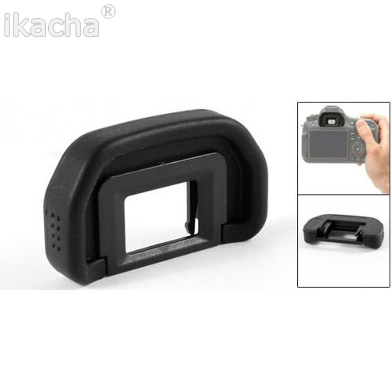 100pcs EB Rubber Eye Cup Eyecup for <font><b>Canon</b></font> EOS 10D 20D 30D 40D 50D 60D 70D <font><b>5D</b></font> <font><b>5D</b></font> Mark II 6D DSLR Camera <font><b>Accessories</b></font> image