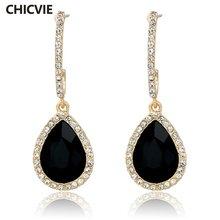 Chicvie массивные серьги модные ювелирные изделия известный