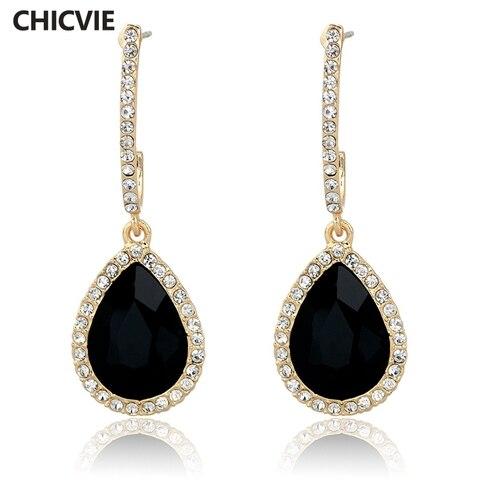 Купить chicvie массивные серьги модные ювелирные изделия известный
