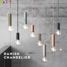 KAIT Pendant Lights Loft LED Lamp Bedroom Home Lighting E27