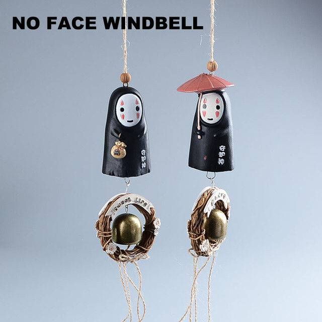 Studio Ghibli My Neighbor Totoro – No Face Windbell Home Decor