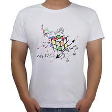 2017 Palace Physics T Shirt Fashion Math Work Design Men T-shirt Short Sleeve Hipster Tops Rubik Cube Printed T Shirts Cool Tee