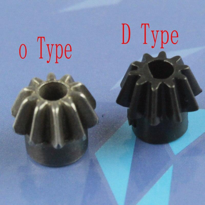 SHS Motor Pinion Gear (Type O/Type D) for Airsoft AEG Motor free shipping type 55tyb recorder calorimeter motor 375 motor turn