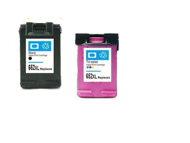 ФОТО 1set Compatible For HP 652 cartridge For HP 652 Ink Cartridge For HP DeskJet 3635 1115 2135 3638 2138 3636 1118 Printer