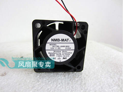 New original NMB 4cm 4028 12V 0.22A 1611RL-04W-B50 40*40*28MM dual ball fan cooling fan купить дешево онлайн