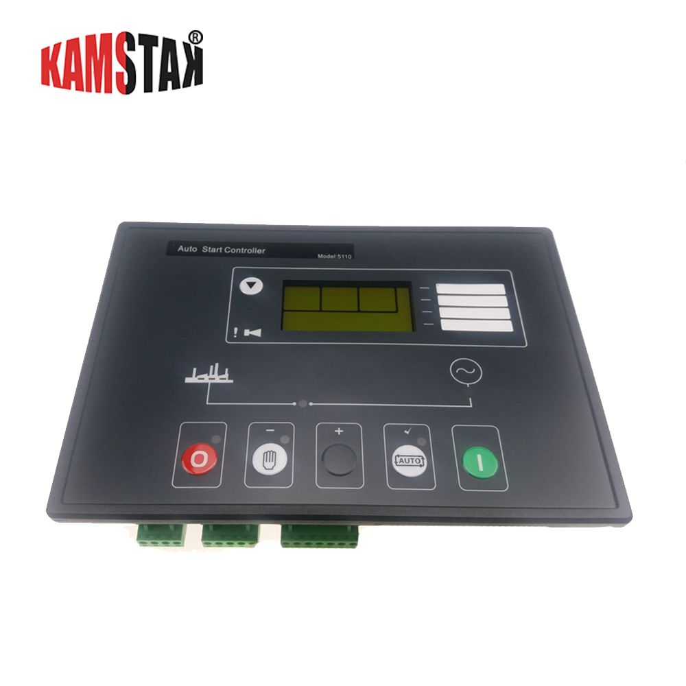 power generator controller 5110 LCD diesel alternator part automatic start control charge panel genset electronic circuit boardpower generator controller 5110 LCD diesel alternator part automatic start control charge panel genset electronic circuit board