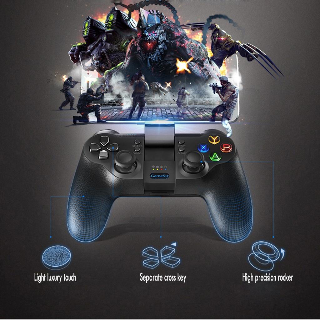 Contrôleur de jeu intelligent sans fil manette contrôleur de jeu 2.4G manette de jeu sans fil pour Android tablette PC Windows TV Box PS3