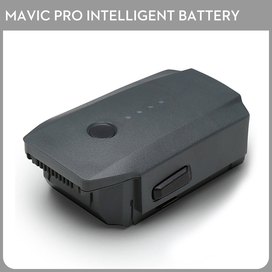 DJI Mavic Pro Intelligent Flight Battery Max 27-min Flight Time 3830mAh 11.4V Designed for the Mavic pro travel aluminum blue dji mavic pro storage bag case box suitcase for drone battery remote controller accessories