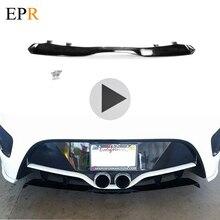 Автомобиль-Стайлинг для hyundai Veloster NEFD стиль Стекловолокно Задний диффузор FRP стекловолокно бампер сплиттер для губ дрейф комплект отделка