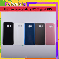 battery samsung galaxy 10Pcs/lot Original For Samsung Galaxy S7 Edge G935 G9350 G935F SM-G935F Housing Battery Cover Back Cover Case Rear Door Chassis (2)