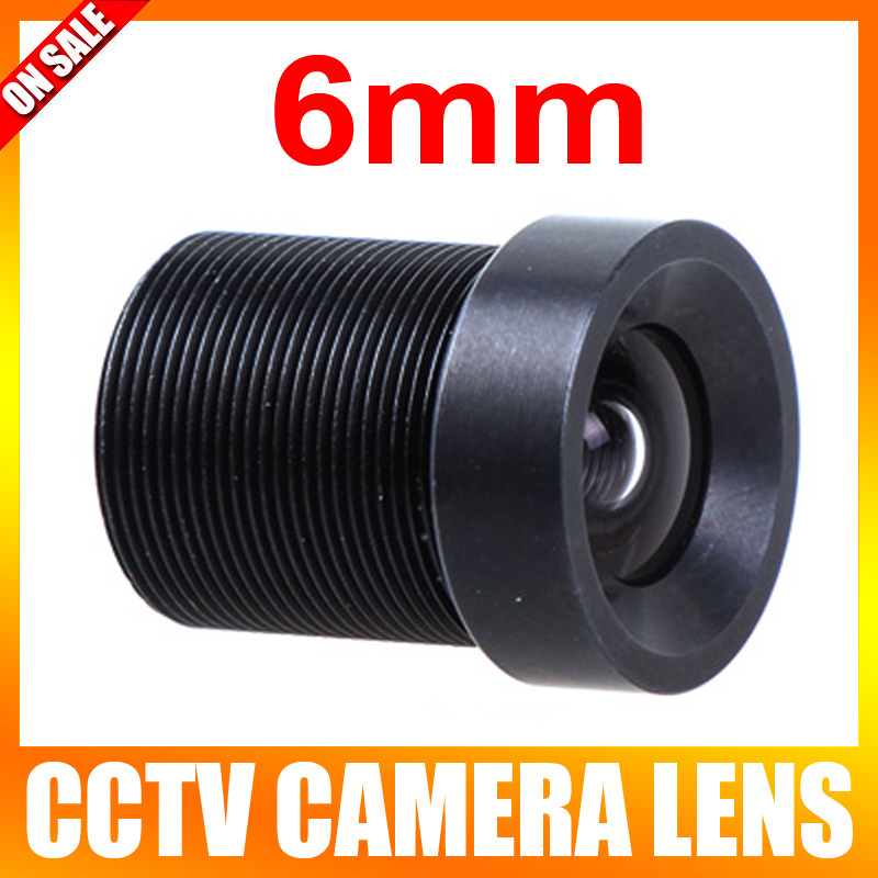 CCTV 6mm Lens 57 Degree Wide Angle Lens Fixed CCTV Camera IR Board M12 Lens 1 3 sharp cctv m12 2 1mm pinhole board camera wide angle lens 150 degree f2 0