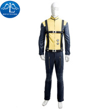 MANLUYUNXIAO Men's X-Men First Class Charles Xavier Cosplay Costume Deluxe Outfit Halloween Cosplay Costume For Men Custom Made