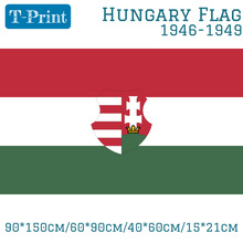 Hungary 1946-1949 1956-1957 Flag With The Coat Of Arms 3ft X 5ft Polyester Banner Flying 150* 90cm Custom Outdoor