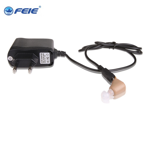 Ear Sound Amplifier Audiphone Analog ITE Hearing Aids Rechargeable Deaf Aid Supplies S-216 2PCS/LOT Free Dropshipping acosound invisible cic hearing aid digital hearing aids programmable sound amplifiers ear care tools hearing device 210if